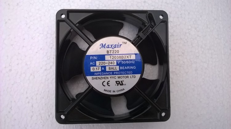 Maxair Circulating Fan Ball-Bearing